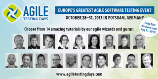 Agile Testing Days 2013